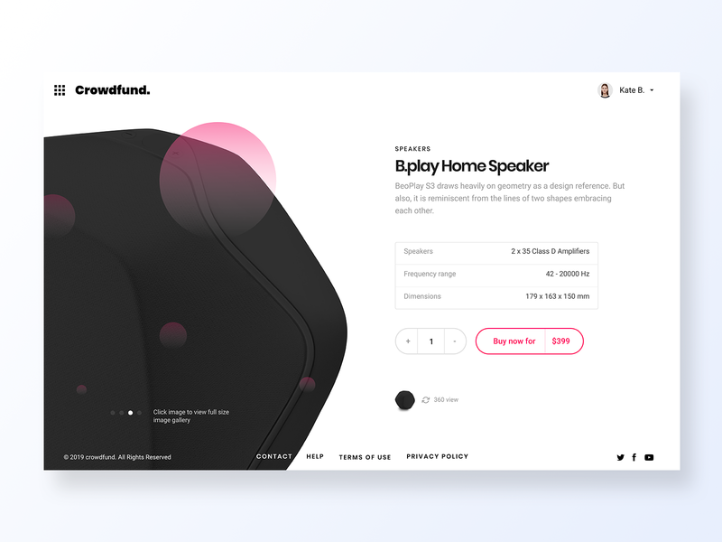 033 Customize Product logo web grid clean minimal typography page flat app design interface app dailyui design ux ui customize home product design speakers product