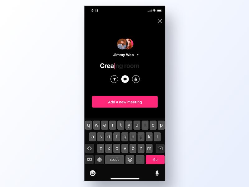 090 Create New black minimal grid app design ux interface app dailyui design ui setup edit create new create new