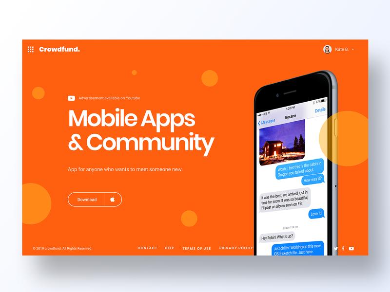098 Advertisement minimal grid app design ux interface app dailyui design ui advertising landing page ads design ads ad