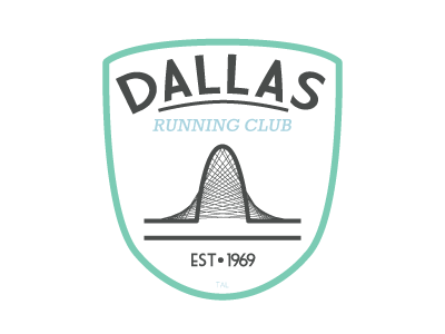 Dallas Running Club Logo Redesign