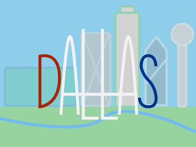 Simple Dallas Skyline