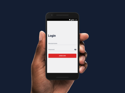 Android Login login application product cards design mobile android ux ui
