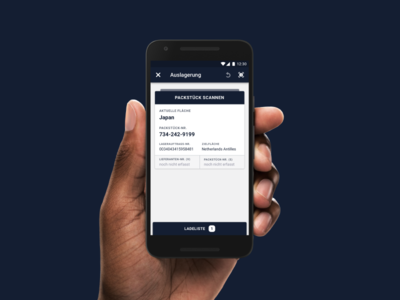 Retrieval Output Orders ui ux android mobile design cards product application