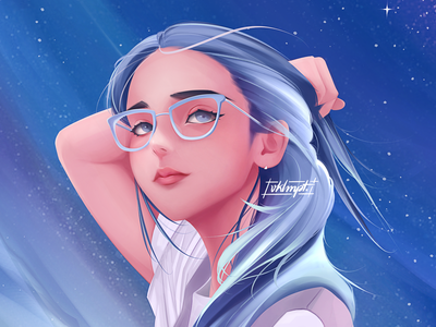 🌬 drawings procreate ipadpro girl character girl art character cute illustration