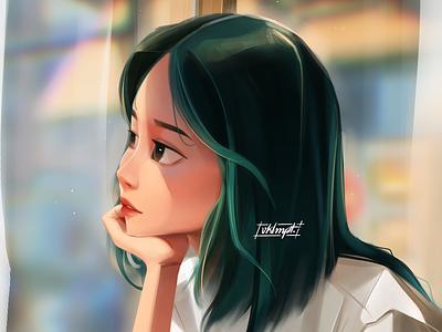 ☀️ girl character girl drawings art character cute illustration