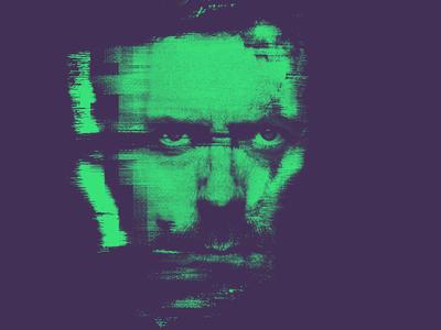 Hugh pixelsorter glitch abstract photoshop