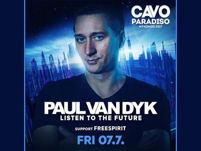 Paul van Dyk - Cavo Paradiso 07/7/2017 mykonos greece art design cavoparadiso paulvandyk trance