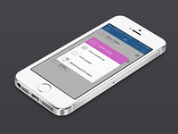 ClouDrop iOS 7 Redesign - Photo Upload