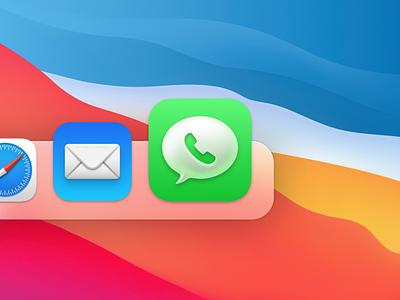 Big Sur Whatsapp Icon whatsapp icon big sur macos
