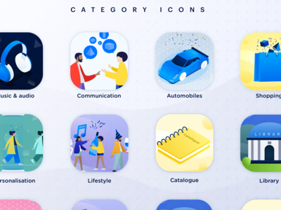 Catergory Icons