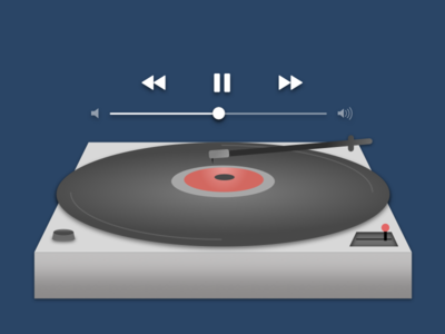 Daily UI day 9 Music player!