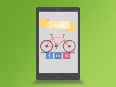 Daily UI Day 10 social shear