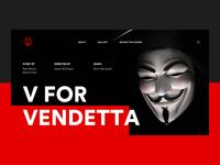 V For Vendetta Movie Website