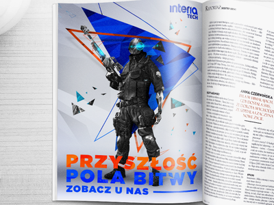 printed add  polygon triangle soldier warrior technology