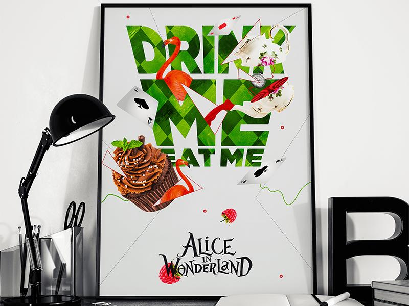 Alice in wonderland by Greg Bassisst on Dribbble
