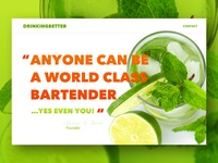 Cocktail Recipe Site