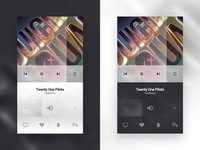 Daily UI #009 // Music Player