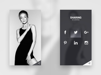 Daily UI #010 // Social Share