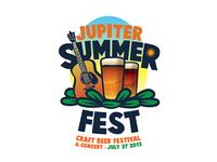 Jupiter Summer Fest Logo