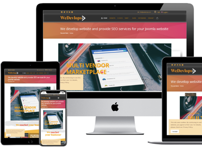 wedevlops.com ecommerce opencart joomla extensions themes icons interface design website