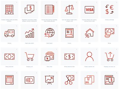 Transparent background icons logo ui illustration interface icon design icons