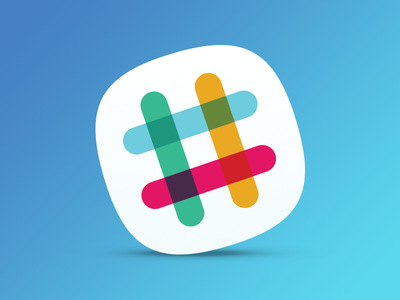 Slack Mac Replacement Icon dock osx mac freebie free slack replacement icon app