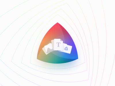 Kaleidoscope for iPad icons illustration kaleidoscope launch comparison ipad ios
