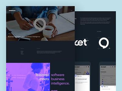 GOODFOLKS Case Studies minimal design layout desktop mobile identity logo app web ux ui branding startups clients case studies portfolio work