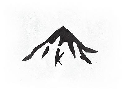 Everest mountain identity logo