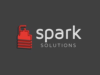Spark logo identity