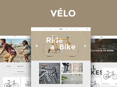 Velo - Bike Store Business Theme