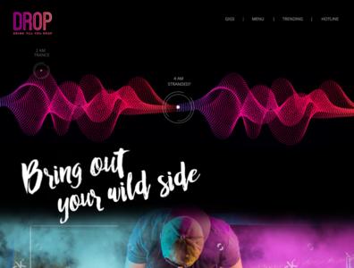 Drop website