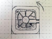 Fantasy Dungeon Sketch