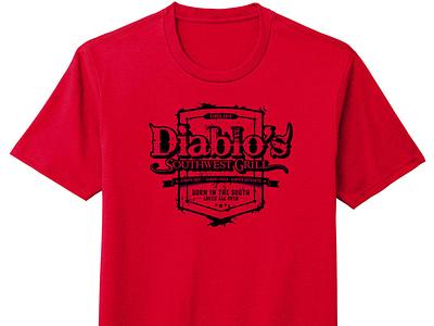 Diablo's Southwest Grill T-Shirt tshirtdesign tshirt wegiveashirt