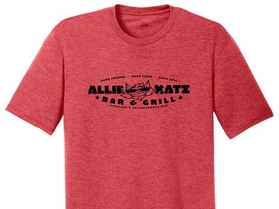 Allie Katz Bar & Grill t-shirt tshirtdesign tshirt wegiveashirt