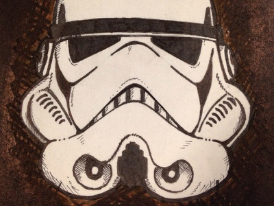 Stormtrooper stormtrooper sketch drawing star wars