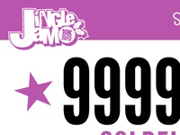 JingleJam 10K 2012 Racing Bib (Concept)