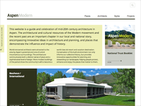 AspenModern website