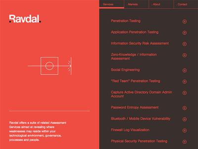 Ravdal website privacy technology svg internet security digital