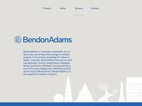 BendonAdams website