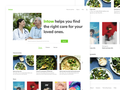 Intow - Visual design news products services