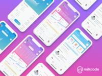 Milkcode iOS & Android app