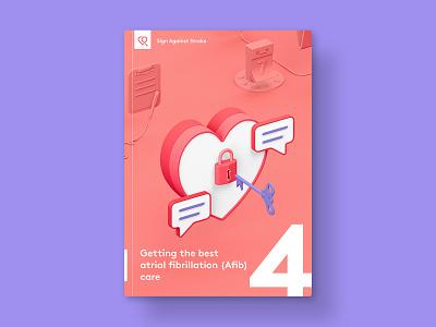 SAS — Brochure 04 medical health healthcare medicine illustration vibrant 3d cinema4d c4d brochure cover cover book