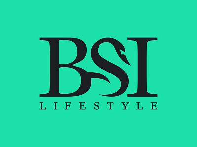 BSI Logo Sample vector illustration branding minimalist minimal graphic design design logo