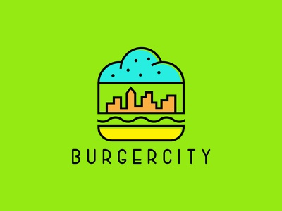 BurgerCity Logo Sample