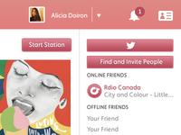 Rdio Website
