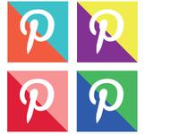 Free Colour Block Social Icons