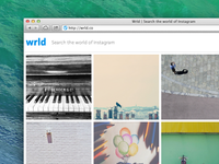 Wrld -  Search The World Of Instagram