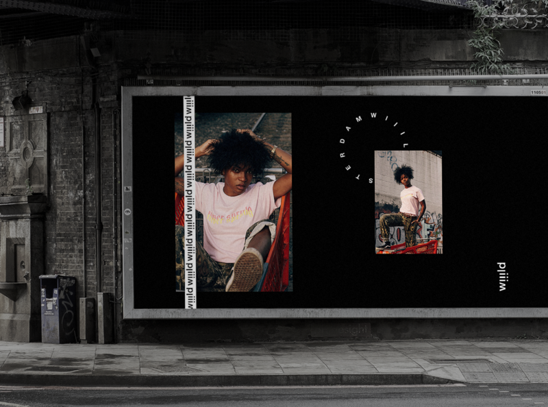 Wiiild - Branding streetwear urban brand design brand clothing brand fashion brand clothing sustainability fashion brand identity branding graphic design design