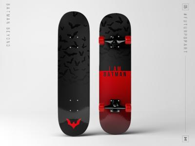 #FuturPopArt Day 5 - Batman Beyond the futur batman skateboard pop art illustration graphic design design decks
